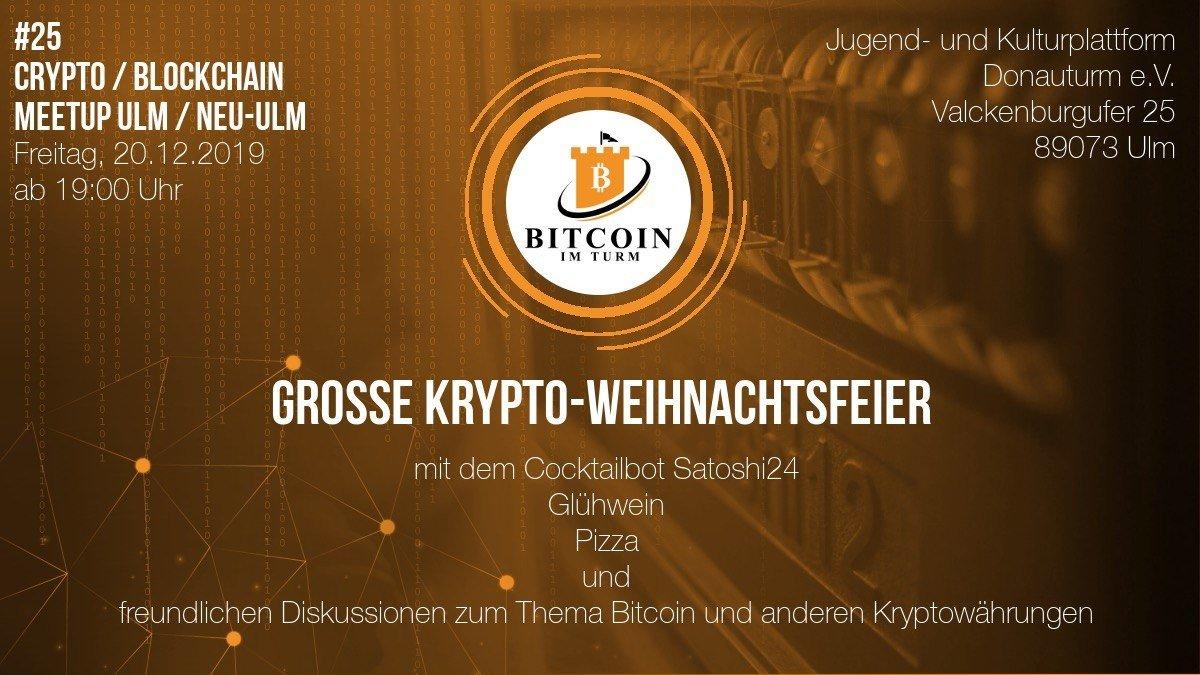 Bitcoin im Turm 12/19